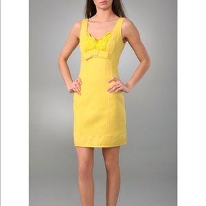 Nanette Lapore yellow dress 6